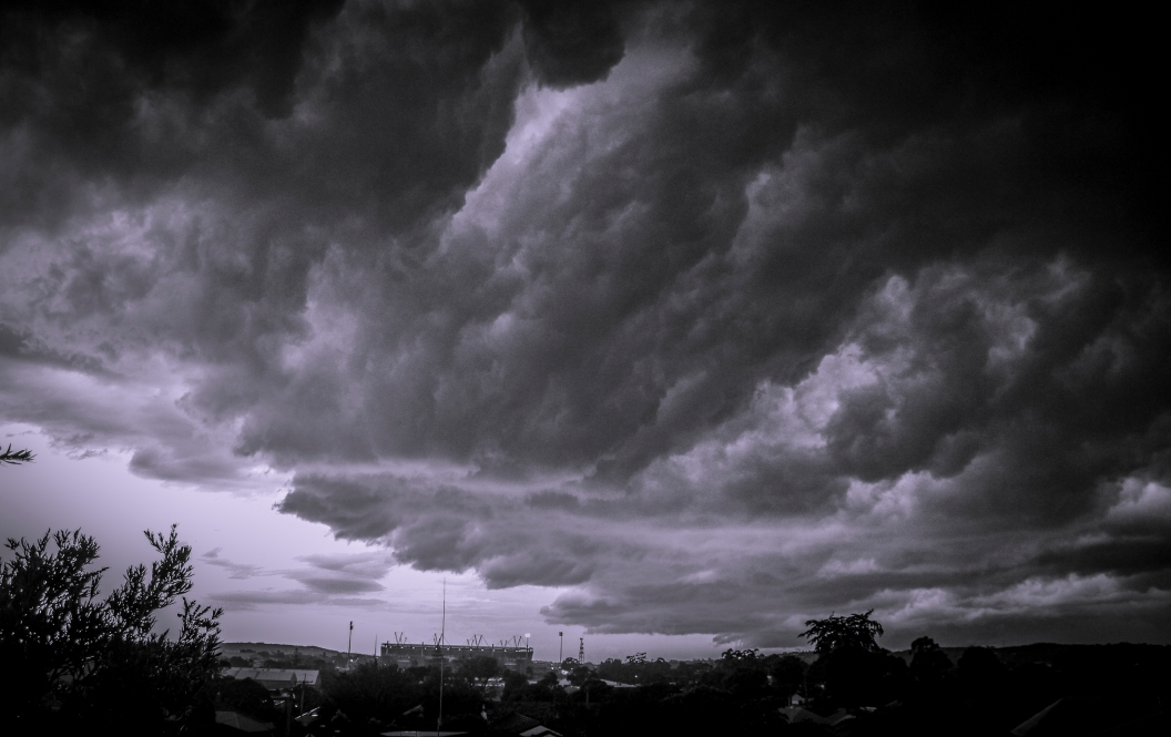 Easter storm over Lambton.