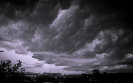 Easter storm over Lambton.