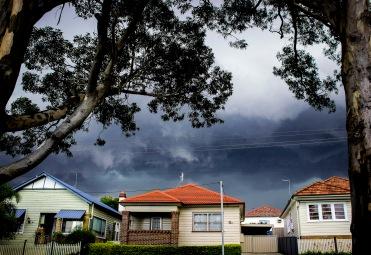 Storm approaching Lambton.