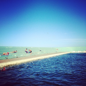 Newcastle Ocean Baths afternoon