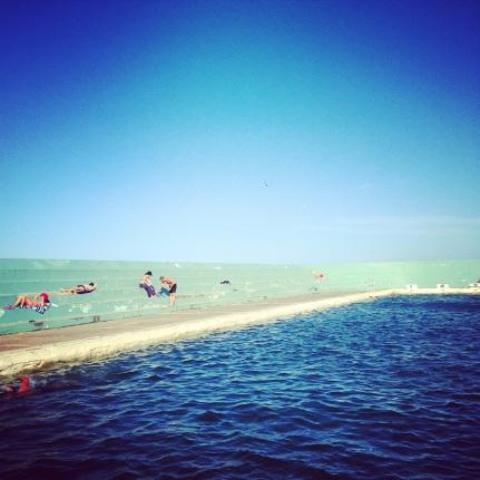 Ocean Baths afternoon.