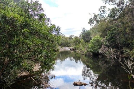 Newton's Crossing near Eden, NSW.