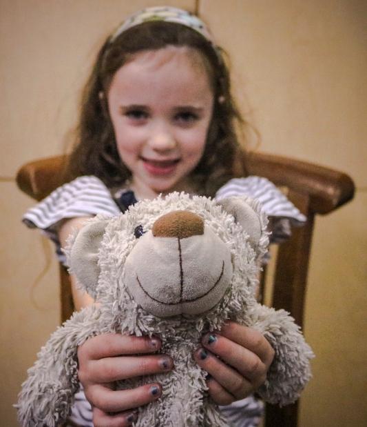 Her teddy