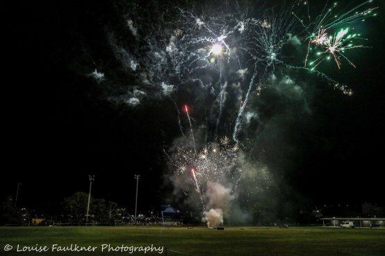 Christmas fireworks - Lambton park2