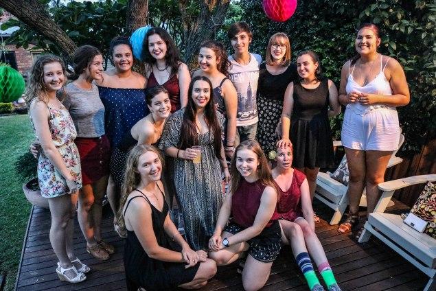 Layne's 18th birthday party
