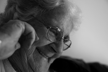 My Grandmother Moira, as captured by Adam Faulkner.