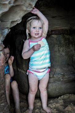 Josette in Cave 6x4
